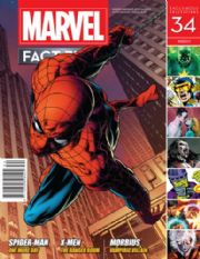 Marvel Fact Files #34 Eaglemoss Publications